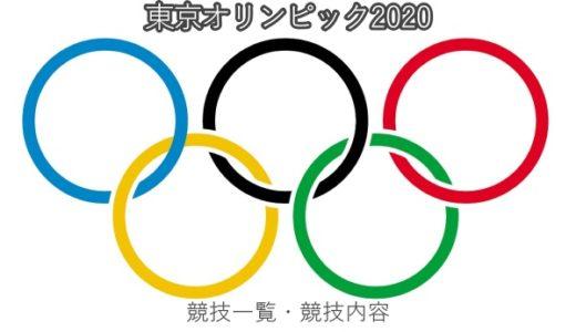 東京オリンピックの競技一覧や内容!会場・日程まとめ
